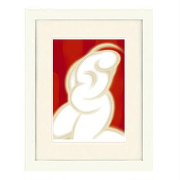 No.131★【Peacefully】額装ジークレー版画(デジタルリトグラフ)