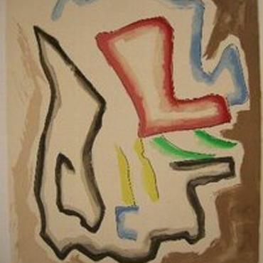 巨匠Man Ray  マン レイのオリジナルリトグラフ 1971年刊行  限定180部 自筆サイン    M-1