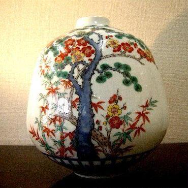 有田焼・柿右衛門様式 花器