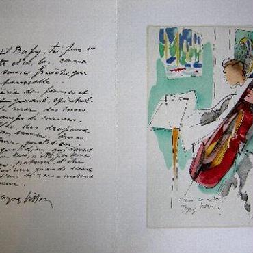 Jacques  Villon ジャック・ヴィヨンのリトグラフ マルセル・デュシャンの兄弟