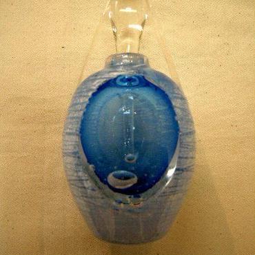 ガラス作家 石垣幸秀の香水瓶  人気作品  F-1 売却済み