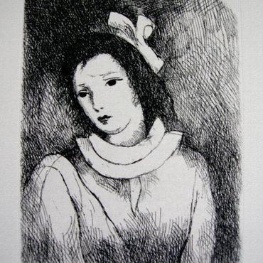 マリーローランサンの銅版画