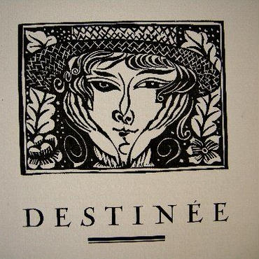 ラウル・デュフィのオリジナル木版画2点 1919年制作 コンディション良好