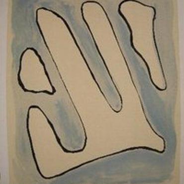 巨匠Man Ray  マン レイのオリジナルリトグラフ  1971年刊行  限定180部  自筆サイン    M-2