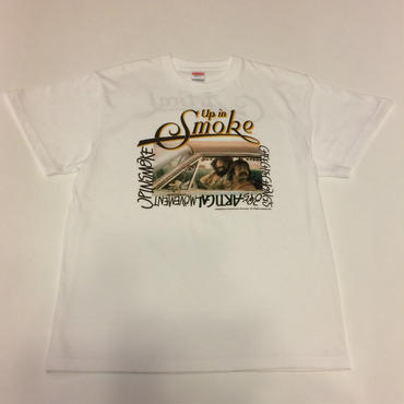CHEECH & CHONG photo T shirt(white)