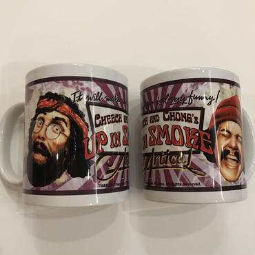 CHEECH & CHONG's UP IN SMOKE MUG  SET