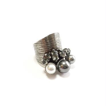 ILIADE Ring (Grey Silver)