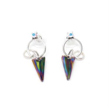 LURUS Hoop Earrings(Silver)
