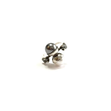 SYNTHETIC ring (Grey Silver)