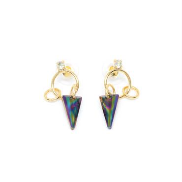 LURUS Hoop Earrings(Gold)