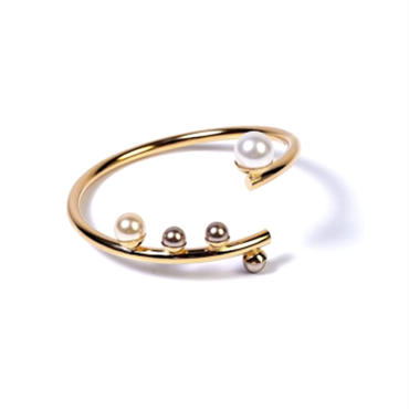 CYCLOPE Cuff Bracelet (Crystal Gold)