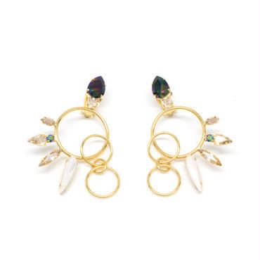 OPERCULA Earrings(Gold)