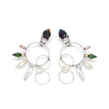 OPERCULA Earrings(Silver)