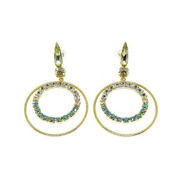 18H25 Pierced Earrings