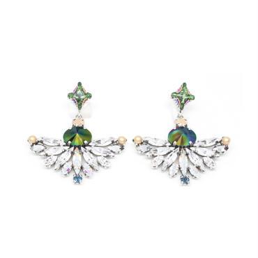 CAPENSIS Earrings Pierced(Silver)