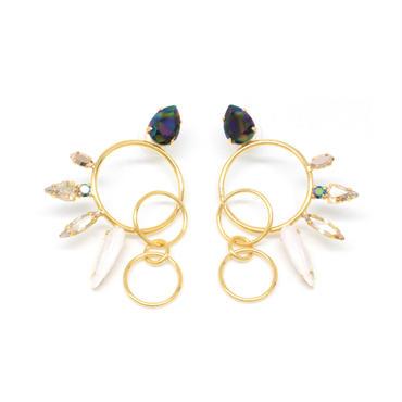 OPERCULA Earrings Pierced(Gold)