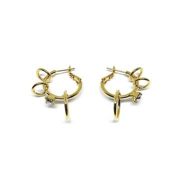 CERES Pierced Hoop Earrings