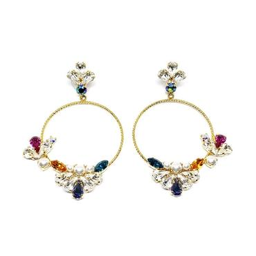LORA Pierced Earrings