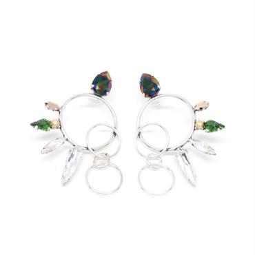 OPERCULA Earrings Pierced(Silver)