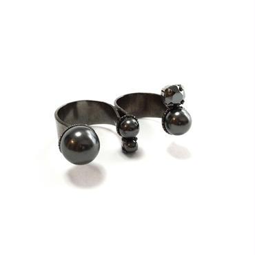 APHRODITE Double Ring (Black Gun)