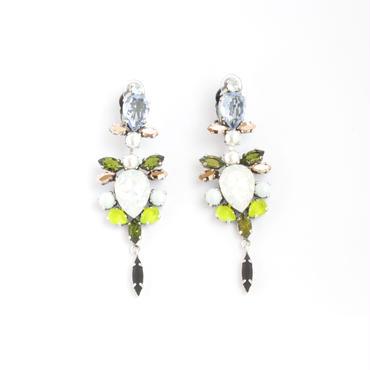 SCARAB16E19  Earrings  (LIME)
