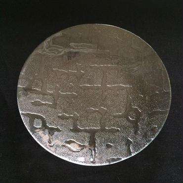 昭和型ガラス「さらさ」 皿 円形 小(Φ120mm)