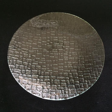 昭和型ガラス「つづれ」 皿 円形 小(Φ120mm)