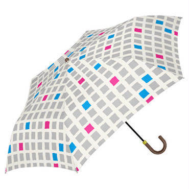 【a.s.s.a】RM104 ウィンドーチェック 雨傘