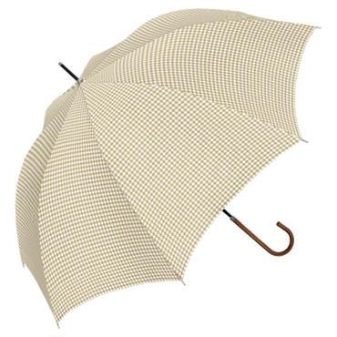 【a.s.s.a】SL006 ハウンドトゥース 雨傘