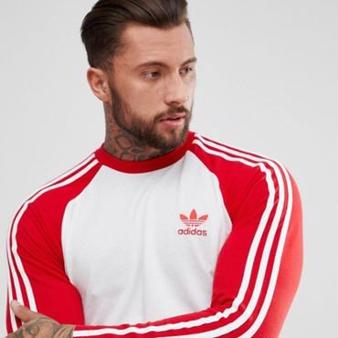 【関税送料込】Adidas/新作☆ACLストライプ長袖Tシャツ 4カラー