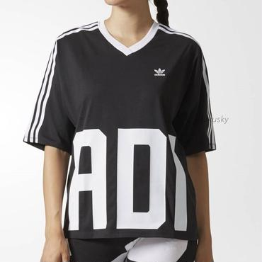 adidas★新作/送料込★ラージロゴ入りTシャツ