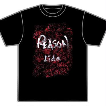 受注生産「REASON」Tシャツ(黒)
