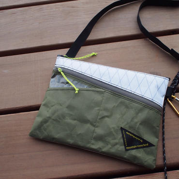 Hiker's SACOCHE-02   (Col:WHT/G.Green)  ONLINE限定