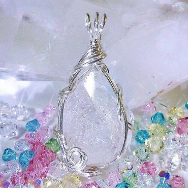 エレスチャル水晶 ペンダントトップ Ⅰ