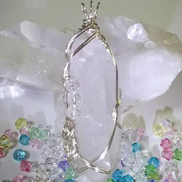 レムリアン水晶 ペンダントトップ