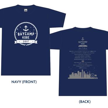 BAYCAMP KOBE 2017 オフィシャルTシャツ(Navy)