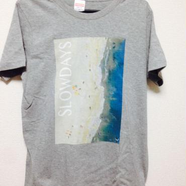 SLOW DAYS オフィシャルTシャツ(ヘザーグレー)