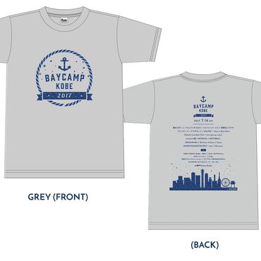 BAYCAMP KOBE 2017 オフィシャルTシャツ(Grey)