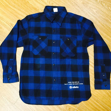 shirt  Blue×Black