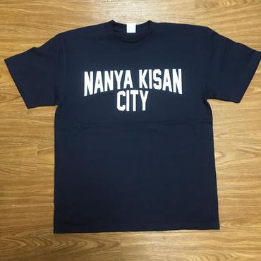 【受注製作商品】atleta nanyakisancity T-shirt ナンヤキサンシティTシャツ ネイビー