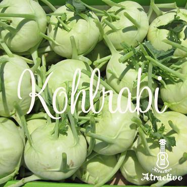 珍しいイタリア野菜コールラビ