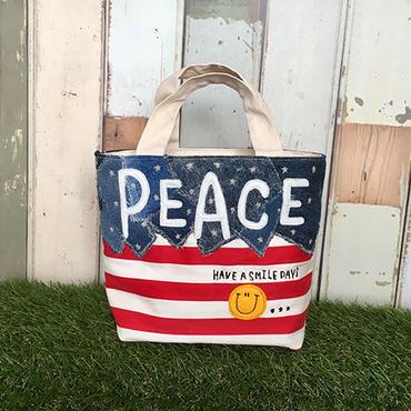 PEACEスマイルミニトート