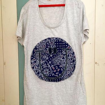バンダナスマイルTシャツ(ネイビー)