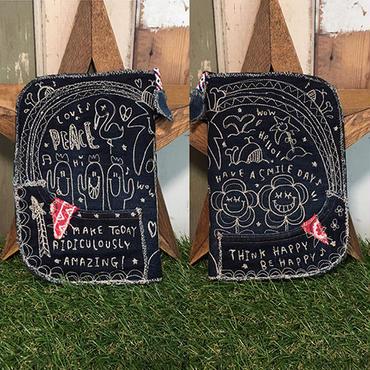 ひょっこりフラワー&サボテン刺繍母子手帳(マルチ)ケース【内側セレクト】