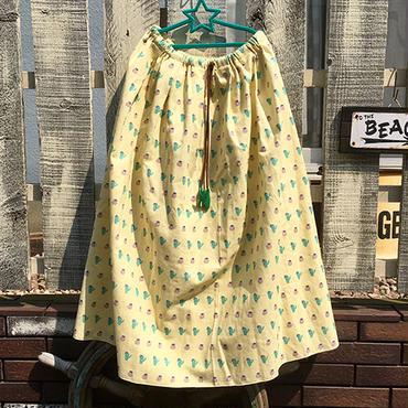 サボテン総柄スカート