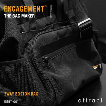 ENGAGEMENT エンゲージメント Engaged Nylon エンゲージド・ナイロン 2way ボストンバッグ  ショルダーバッグ 出張用 EGBT-001