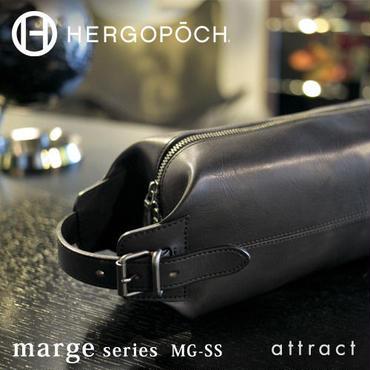 HERGOPOCH エルゴポック Marge マージ Basked Leather バスクドレザー 2way クラッチバッグ MG-SS