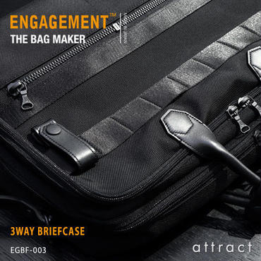 ENGAGEMENT エンゲージメント Engaged Nylon エンゲージド・ナイロン 3way ブリーフケース バックバック ショルダーバッグ EGBF-003