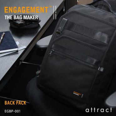 ENGAGEMENT エンゲージメント Engaged Nylon エンゲージド・ナイロン バックパック EGBP-001