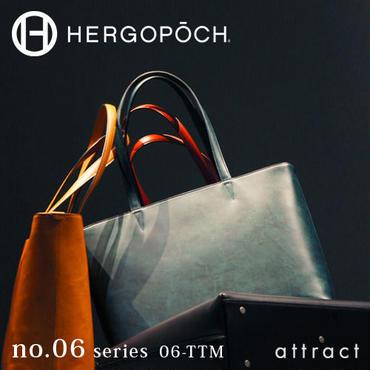 HERGOPOCH エルゴポック no.06 Waxed Leather トートバッグ 06-TTM